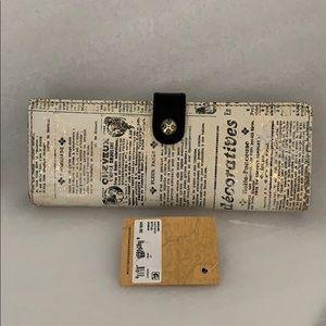 PATRICIA Nash Credits Card Case: Newspaper Print